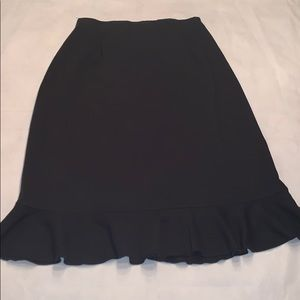 Hannah Andersson black skirt small